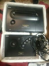 Snk Neo Geo Aes Console , original controller and Box,  All Cables