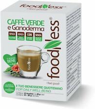 FOODNESS MONODOSE CAFFÈ VERDE E GANODERMA 5 CONFEZIONI DA 10 BUSTE (50 PZ)