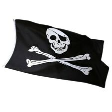 Pirate Flag Jolly Roger Skull and Crossbones 5ft x 3ft ideal for Climbing frame