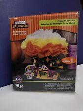 Halloween 3 D Foam Kit 79 pc Creatology Haunted Tree House