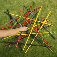 Jumbo Pick Up Sticks Set of 25 Colorful 31 Inch Long Kids Game Indoor Outdoor