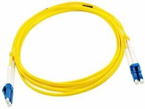 LC/LC Singlemode Duplex Patch Lead 1m 9/125 Yellow