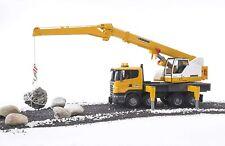 Bruder Scania R-Series Liebherr Crane Construction Vehicle Lights Sounds 03570