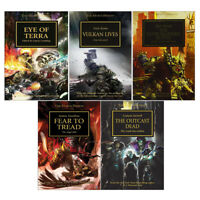 Horus Heresy Series Collection 5 Books Set Unremembered Empire, Fear Paperback