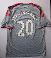 3.5/5 LIVERPOOL #20 MASCHERANO 2008~2009 ORIGINAL FOOTBALL SHIRT JERSEY AWAY