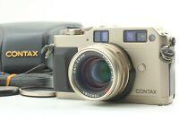 【MINT w/Case】 CONTAX G1 D Film Camera Carl Zeiss Planar 45mm f/2 from JAPAN #414