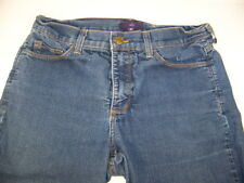 NYDJ Not Your Daughters Jeans Worn Washed Denim 10 Inseam 32