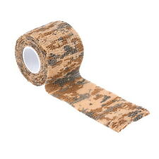 4.5m Army Camo Wrap Rifle Gun Shooting Hunting Camouflage Webbing Tape Firm N6 Desert Camouflage