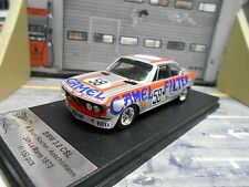BMW 3.0 CSL Coupe 24h Le Mans 1973 #58 Brun Kocher Camel Schnitzer Trofeu 1:43