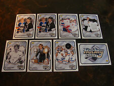 1992-93 Upper Deck Hockey---Wayne Gretzky Heroes---Lot Of 8---See List