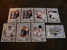 1992-93 Upper Deck Hockey---Wayne Gretzky Heroes---Lot Of 8---See List