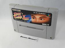 STREET FIGHTER II 2 TURBO NINTENDO SUPER FAMICOM SNES 16 BIT GIAPPONESE JAP JP