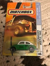 MATCHBOX MB56 VOLKSWAGEN BEETLE TAXI GREEN & WHITE MEXICO TAXI