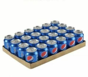 Pepsi 330ml Case of 24 Cans - Soft Drink Fizzy Drinks Can