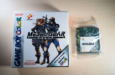 Playable Metal Gear Solid on Game Boy Color with orignal box (+multi language)