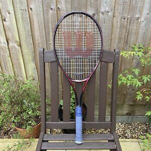 Mens WILSON HIGH BEAM SERIES EUROPA ACE 27 ALLOY 6000 Tennis Racket -100 SQ IN