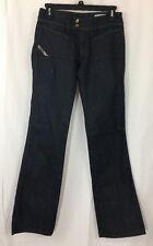 Women's Diesel Hush DS Bootcut Jeans Size 27 Dark Wash