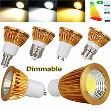 9 W 12 W 15 W GU10 MR16 GU5.3 E27 E14 Regulable Focos LED Lámpara Bombilla COB/EPISTAR