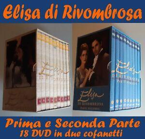 ELISA DI RIVOMBROSA PRIMA E SECONDA SERIE COMPLETA IN 18 DVD (NUOVI)