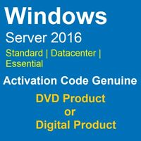 [CODE] ACTIVE WIN SERVER 2016 ESSENTIALS / DATA CENTER / STANDARD