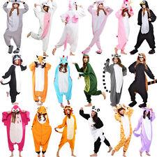 Unisex Adult Pajamas Kigurumi Cosplay Costume Halloween Animal Sleepwear Suit