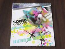 SONIC COLORS ORIGINAL SOUNDTRACK ViViD CD Sega HYBRiD Game music Cash SEGA
