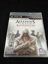 Assassin's Creed: Brotherhood (Sony PlayStation 3, 2010) New & Sealed!!