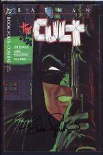 Batman The Cult 4 SIGNED BERNIE WRIGHTSON Deluxe 1988 Starlin DC w) COA 'Combat'