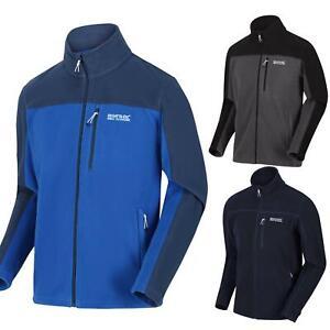 Regatta Fellard Mens Polar Fleece Jacket Zip Up Outdoor Breeze Lightweight Coat