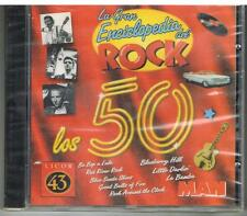 LA GRAN ENCICLOPEDIA DEL ROCK - LOS 50 - ANNI 50 - CD /CD ROM -  NUOVO SIGILLATO