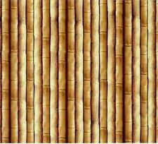 Fat Quarter Bamboo Safari Cats Cotton Quilting Fabric