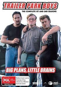 Trailer Park Boys : Season 1-2 (DVD, 2006, Fat Case, 3-Disc Set) Region 4