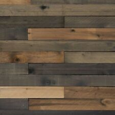 Reclaimed Barn Wood 1/2 in x 4 in x 4 ft Weathered Hardwood Board (8-Piece)