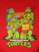 XXL red TEENAGE MUTANT NINJA TURTLES t-shirt by NICKELODEON