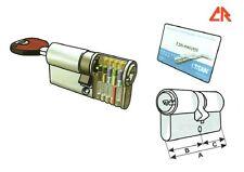 CILINDRO SICUREZZA CR TITAN-K66 CHIAVE PUNZONATA ANTI-BUMPING mm.72 / 31-41