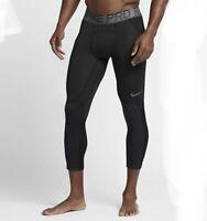 Nike Pro Hypercool Basketball Pant Men's Large L Black Tight Compression 848976