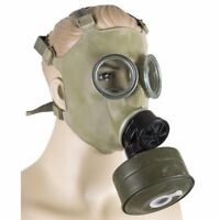 Original Soviet Polish MC-1 Gas Mask Unissued surplus. With Gas Mask Bag!