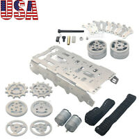 Tracked Vehicle Robot Tank Chassis Independent Suspension System for Arduino USA