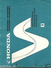 HONDA NH50 - NH80 PARTS CATALOGUE SCOOTER 1982,DAX,CY