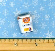 Dollhouse Miniature Size  Rolled Up Flour Bag Ten Pound