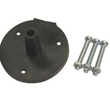 PVC SOCKET GASKET FOR 7 PIN SOCKET X 3 M5 X35MM SCREWS & NUTS TRAILER CARAVAN