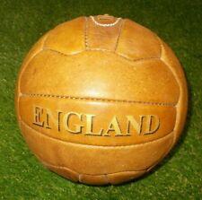 England Retro Leather Size 5 Football Ball