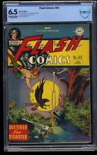 Flash Comics #83 CBCS FN+ 6.5 Off White to White