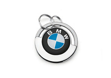 *NEW* BMW Roundel Logo Key Ring Disc - 80272466304
