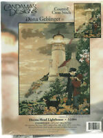 Heceta Head Lighthouse Counted Cross Stitch Kit Candamar Designs Seashore