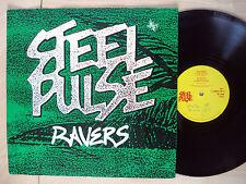 """Steel Pulse Ravers / Leggo Beast ♫LISTEN♫ A-1 B-1 UK 12"""" 12 WMDS 001 1982 EX/EX"""