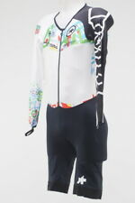 New! Assos Tour of California LS Men's Skinsuit White Young Rider TAG Size XL