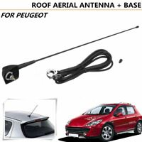Aérien Antenne Base Support Noir for Peugeot 106 205 206 306 307 309 406 806 807