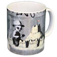Banksy Tesco Sandcastle Ceramic Coffee Mug – Makes an Ideal Gift