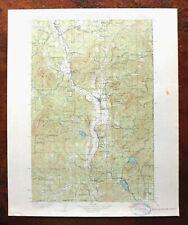 1930 Chewelah Washington Vintage USGS Topo Map Springdale Arden Topographical